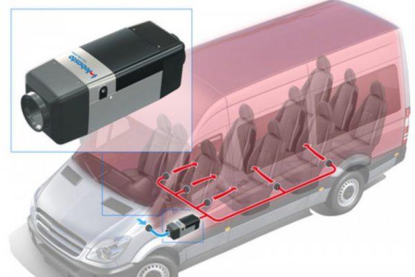 Автономные отопители для микроавтобусов
